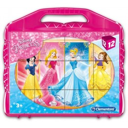 Clementoni 41181 Klocki Puzzle Disney Princess – Księżniczki