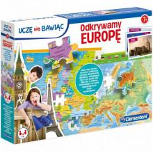 Clementoni - Odkrywamy Europę - Układanka Puzzle 50020