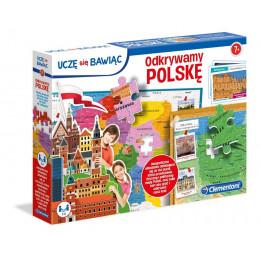 Clementoni - Odkrywamy Polskę - Puzzle Mapa 50021