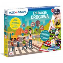 Clementoni - Edukacja drogowa - Gra planszowa 50024
