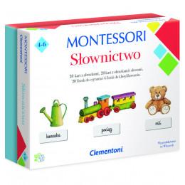 Clementoni - Montessori - Słownictwo 50077