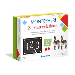 Clementoni - Montessori - Zabawa z cyferkami 50096