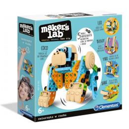 Clementoni - Maker's Lab - Zabawne zwierzęta – 50326