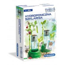 Clementoni - Hydroponiczna szklarnia - Naukowa Zabawa 50516