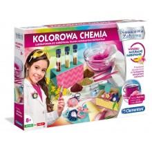Clementoni - Kolorowa Chemia - Farbowanie tkanin 50518