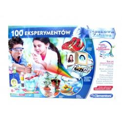 Clementoni 50522 - Naukowa Zabawa, 100 Eksperymentów