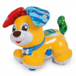 Clementoni Baby - Piesek Uszatek - Mówi i uczy - Zabawka interaktywna 50527