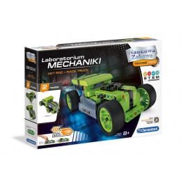 Clementoni - Laboratorium mechaniki - Hot Rod + Race Truck 50634
