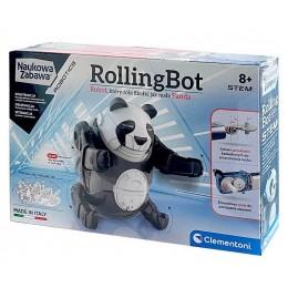 Clementoni – Naukowa Zabawa – Rolling Bot Panda 50684
