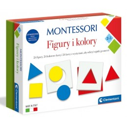 Clementoni – Montessori – Figury i kolory 50692
