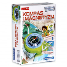 Clementoni - Kompas i magnetyzm - Naukowa Zabawa 60050