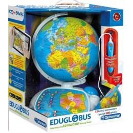 Clementoni 60444 Interaktywny Eduglobus - Poznaj Świat