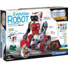 Clementoni - Programowany Evolution Robot - Naukowa Zabawa Technologic 60466
