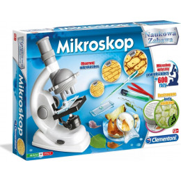 Clementoni - Mikroskop - Naukowa Zabawa 60467