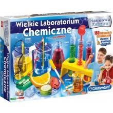 Clementoni - Wielkie Laboratorium Chemiczne - Doświadczenia dla dzieci 60468