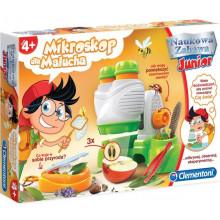 Clementoni - Mikroskop dla malucha - Naukowa Zabawa Junior 60599