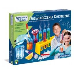 Clementoni 60774 Zestaw naukowy - Moje pierwsze doświadczenia chemiczne