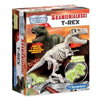 Clementoni - Skamieniałości T-Rex - Świecący w ciemności 60889