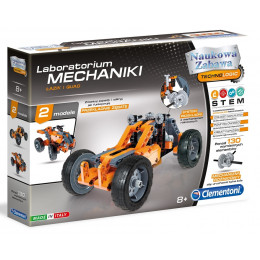 Clementoni - Laboratorium mechaniki - Łazik i quad - Naukowa Zabawa 60954