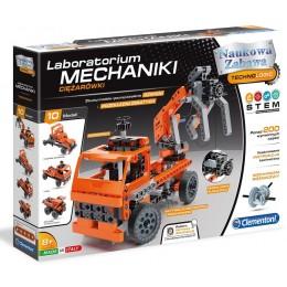 Clementoni 60992 Laboratorium Mechaniki – Zestaw konstrukcyjny - Ciężarówki