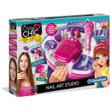 Clementoni 78257 Crazy Chic – Crazy Studio Paznokci