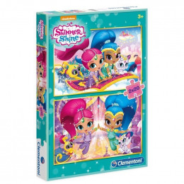 Clementoni - Puzzle Shimmer i Shine 2 x 20 el. - 07028
