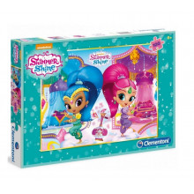 Clementoni - Puzzle Shimmer i Shine 100 el. - 07256