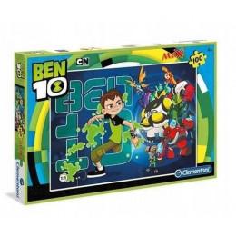 Clementoni - Puzzle Maxi Ben 10 100 el. - 07536