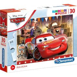 Clementoni - Puzzle 30 elementów - Auta - 20255
