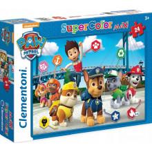Clementoni - Puzzle Supercolor Maxi 24 elementy - Psi Patrol - 24049