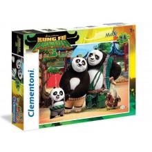 Clementoni - Puzzle SuperColor Maxi - Kung Fu Panda 3 24 el. - 24475