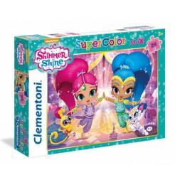Clementoni - Puzzle SuperColor Maxi - Shimmer i Shine 24 el. - 24486