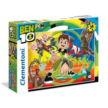 Clementoni - Puzzle SuperColor Maxi - Ben 10 24 el. - 24498