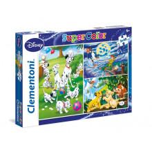 Clementoni - Puzzle SuperColor Disney Classic 3 x 48 el. - 25212