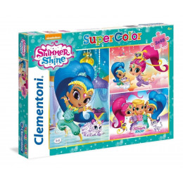 Clementoni - Puzzle SuperColor Shimmer i Shine 3 x 48el. - 25218