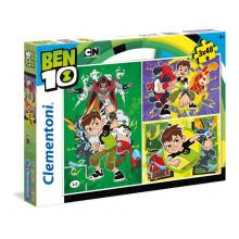 Clementoni - Puzzle SuperColor  Ben 10 3 x 48 el. - 25225