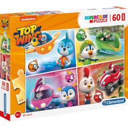 Clementoni - Puzzle Supercolor Maxi 60 elementów - Top Wing - 26453