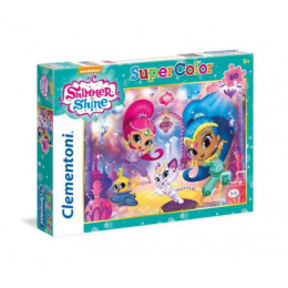 Clementoni - Puzzle SuperColor Shimmer i Shine 60 el. - 26969