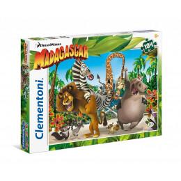 Clementoni - Puzzle SuperColor Madagaskar 104 el. - 27941