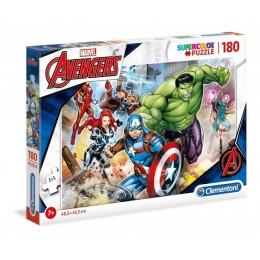 Clementoni – Puzzle Supercolor 180 elementów – Avengers – 29295