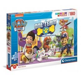 Clementoni – Puzzle Supercolor 180 elementów – Psi Patrol – 29308