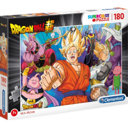 Clementoni - Puzzle Supercolor 180 elementów - Dragon Ball - 29755