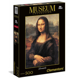 Clementoni - Puzzle Mona Lisa 500 el. - 30363