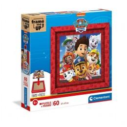 Clementoni – Puzzle z ramką 60 elementów – Psi Patrol – 38808