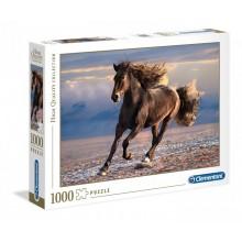 Clementoni – Puzzle 1000 elementów – Wolny koń – 39420