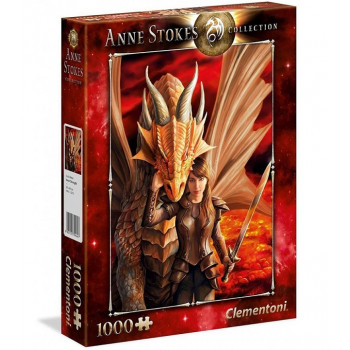 Clementoni - Puzzle Anne Stokes Collection - Inner Strength 1000 el. - 39464