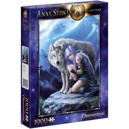 Clementoni - Puzzle Anne Stokes Collection - Protector 1000 el. - 39465