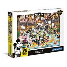 Clementoni - Puzzle Disney Mickey Mouse 90 years of magic 1000 elementów - 39472