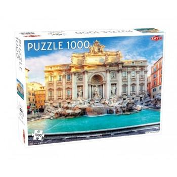 Tactic – Puzzle 1000 elementów – Fontanna di Trevi – 56752