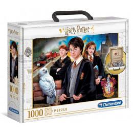 Clementoni – Puzzle w walizce 1000 el. – Harry Potter – 61882